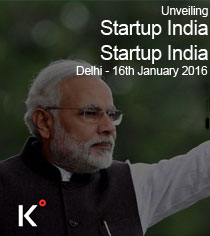 START-UP India Launch by Prime Minister Narendra Modi on 16th January, 2016