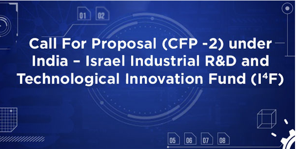 Apply now for grant funding for joint industrial R&D projects under the India - Israel I4F programme focusing on Agriculture, Energy, Health, ICT, Electronics and Water