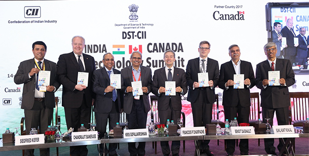 LAUNCH OF INDIA-CANADA COLLABORATIVE INDUSTRIAL RESEARCH & DEVELOPMENT PROGRAMME 2018
