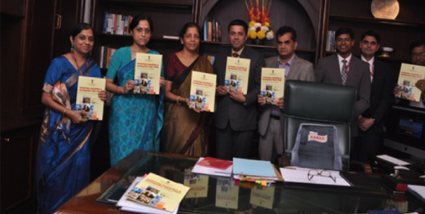 Launch of TADF Programme by Hon'ble Minister of State (Independent Charge) for Commerce & Industry - <b>Smt. NirmalaSitharaman</b> on 19th November 2015