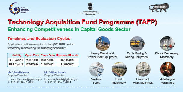 Technology Acquisition Fund Programme (TAFP)