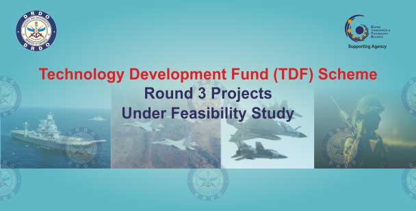 Technology Development Fund (TDF) Round 3 Projects Under Feasibility Study. Click to view the Brief Requirements of the Projects.